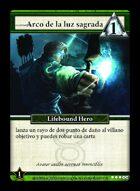 Arco De La Luz Sagrada  - Custom Card