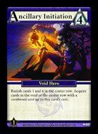 Ancillary Initiation - Custom Card