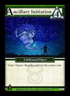 Ancillary Initiation - Custom Card
