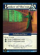 Banker Of Sho'ran - Custom Card