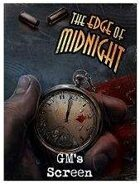 The Edge of Midnight: GM Screen