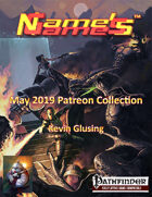 Name's Games May 2019 Collection