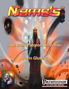 Name's Games June 2020 Collection