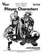 One Night One Shot Player Characters