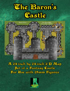 Baron's Castle VTT Map