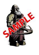 Image- Stock Art- Stock Illustration- Diabolic Duergar Dwarf with a crossbow