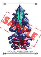 Stock Art - Image - Stock Illustration - Alien Meditation - Monster - Fate - Evil