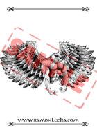 Image - Stock Art - Stock Illustration - Bird man - Winged monster