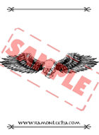 Image - Stock Art - Stock Illustration - skull with wings