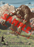 Image- Stock Art- Stock Illustration- Mountain cyclops