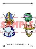 Image - Stock Art - Stock Illustration - Frankenstein - Vampire - Chaos warrior - Lich