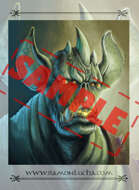 Image- Stock Art- Stock Illustration- Tale - Monster - Mutant - Orc - Vampire