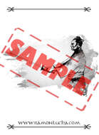 Image - Stock Art - Grayscale - Stock Illustration - rpg - Samurai - grayscale