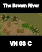 The Brown River Map 3 VIETNAM Serie  for all Modern Skirmish Games Rules
