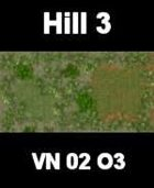 VN Hill 3 Map 4 VIETNAM Serie  for all Modern Skirmish Games Rules