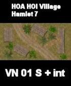 VN Hamlet 7 Maps  VIETNAM Serie  for all Modern Skirmish Games Rules