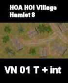VN Hamlet 8 Maps  VIETNAM Serie  for all Modern Skirmish Games Rules
