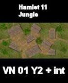 VN Hamlet 11 / Jungle Map  VIETNAM Serie  for all Modern Skirmish Games Rules