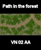 VN Forest/Path Map # 10 Vietnam Serie for all Modern Skirmish Games Rules