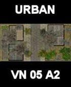 URBAN #2 Map Vietnam Series for all Modern Skirmish Games Rules