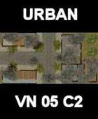URBAN #6 Map Vietnam Series for all Modern Skirmish Games Rules