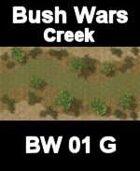 Creek Map#1 BUSH WARS Series for all Modern Skirmish Games Rules