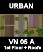 URBAN Floor and Roofs Map #1 Vietnam Series for all Modern Skirmish Games Rules