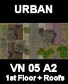 URBAN Floor and Roofs Map #2 Vietnam Series for all Modern Skirmish Games Rules