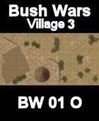 Village Map#3 BUSH WARS Series for all Modern Skirmish Games Rules