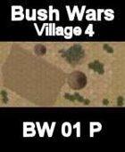 Village Map#4 BUSH WARS Series for all Modern Skirmish Games Rules