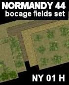Bocage/Fields Set Maps #8 to #13 NORMANDY 44 Series for all WW2 Skirmish Games Rules