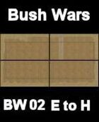 Bush / Farm Map #1 to #4 BUSH WARS Series for all Modern Skirmish Games Rules