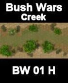 Creek Map#2 BUSH WARS Series for all Modern Skirmish Games Rules