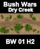 Dry Creek Map#2 BUSH WARS Series for all Modern Skirmish Games Rules