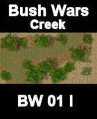 Creek Map#3 BUSH WARS Series for all Modern Skirmish Games Rules