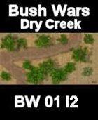 Dry Creek Map#3 BUSH WARS Series for all Modern Skirmish Games Rules