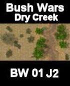 Dry Creek Map#4 BUSH WARS Series for all Modern Skirmish Games Rules