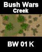 Creek Map#5 BUSH WARS Series for all Modern Skirmish Games Rules