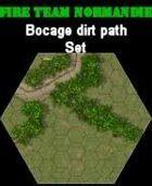 FTN Bocage dirt path SET#1 for Fire Team NORMANDIE