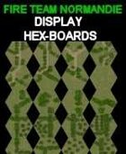 FTN Display Hex-Boards for Fire Team NORMANDIE
