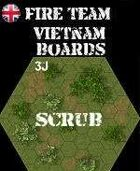 FIRE TEAM: VIETNAM Series 3 Grass & Scrub Boards