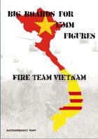 FIRE TEAM : VIETNAM Big Boards River Huts