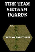 FIRE TEAM : VIETNAM Series 17 Trees on Paddy dike