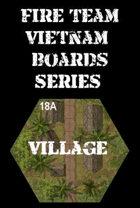 FIRE TEAM : VIETNAM Series 18 - Village Huts & Dirt Road