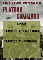 FIRE TEAM: VIETNAM V2.0  Règles Infanterie et Terrains