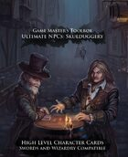Ultimate NPCs: Skulduggery Swords & Wizardry Character Cards High Level