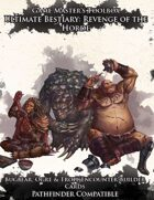 Ultimate Bestiary: Revenge of the Horde - Bugbears, Ogres, and Trolls Encounter Deck (PF)