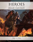 Heroes of High Fantasy: Fires of War 5e Adventure