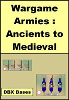 Wargame Armies : Ancient and Medieval