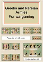 Greek and Persian war game armies DBA DBM style